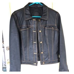 BCBG MaxAzria Leather Jacket Beautiful